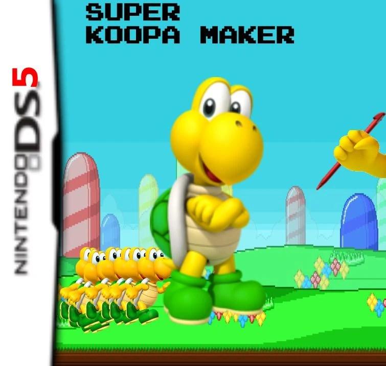 Super Koopa Maker Fantendo Nintendo Fanon Wiki Fandom Powered By Wikia