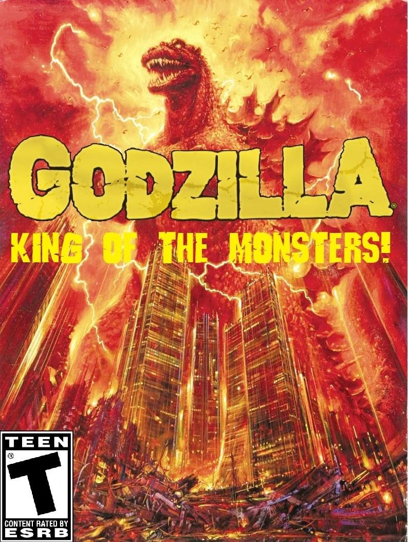 Godzilla King Of The Monsters Fantendo Nintendo