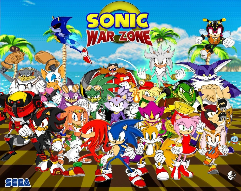 Sonic The Fighters 2 Game Ideas Wiki FANDOM Powered By Wikia