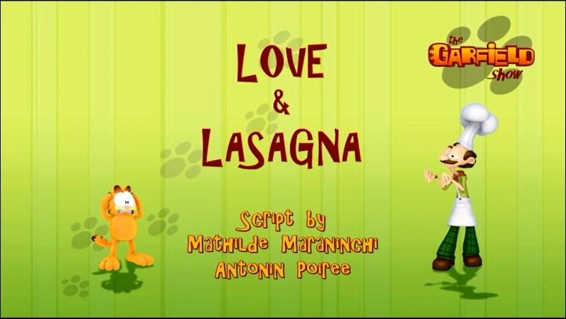 Love And Lasagna Garfield Wiki Fandom Powered By Wikia