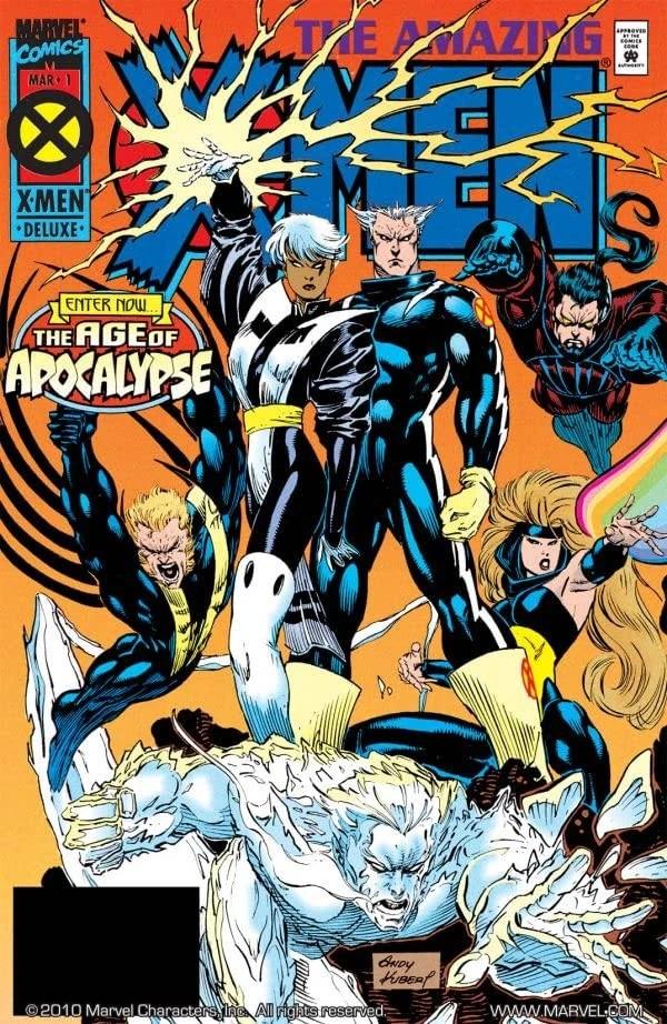 Amazing X Men Vol 1 Marvel Database FANDOM Powered By
