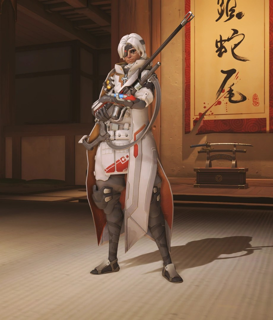 Image Ana Skin Mercifulpng Overwatch Wiki FANDOM Powered By Wikia
