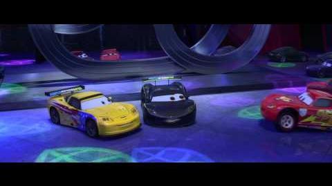 Video - Cars 2 Lewis Hamilton Jeff Gorvette Cameos - Clip ...