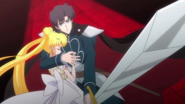 Image result for sailor moon crystal endymion