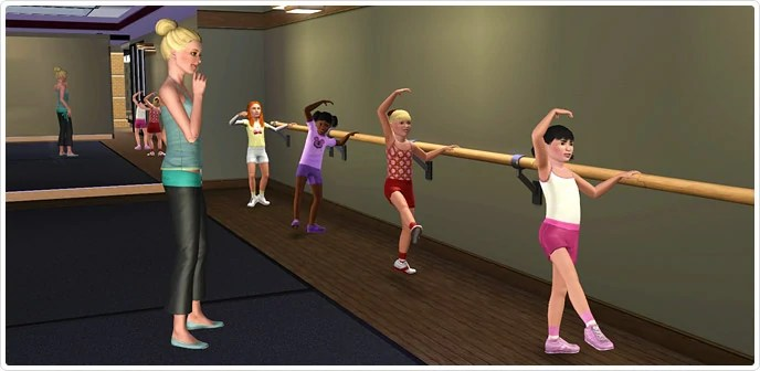 Ballet Barre The Sims Wiki Fandom Powered By Wikia
