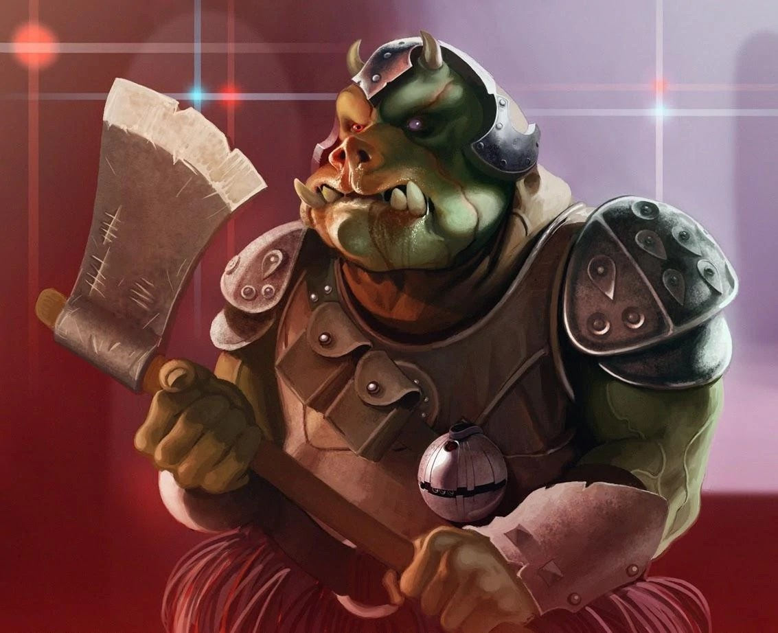 Gamorrean Battleaxe Wookieepedia FANDOM Powered By Wikia