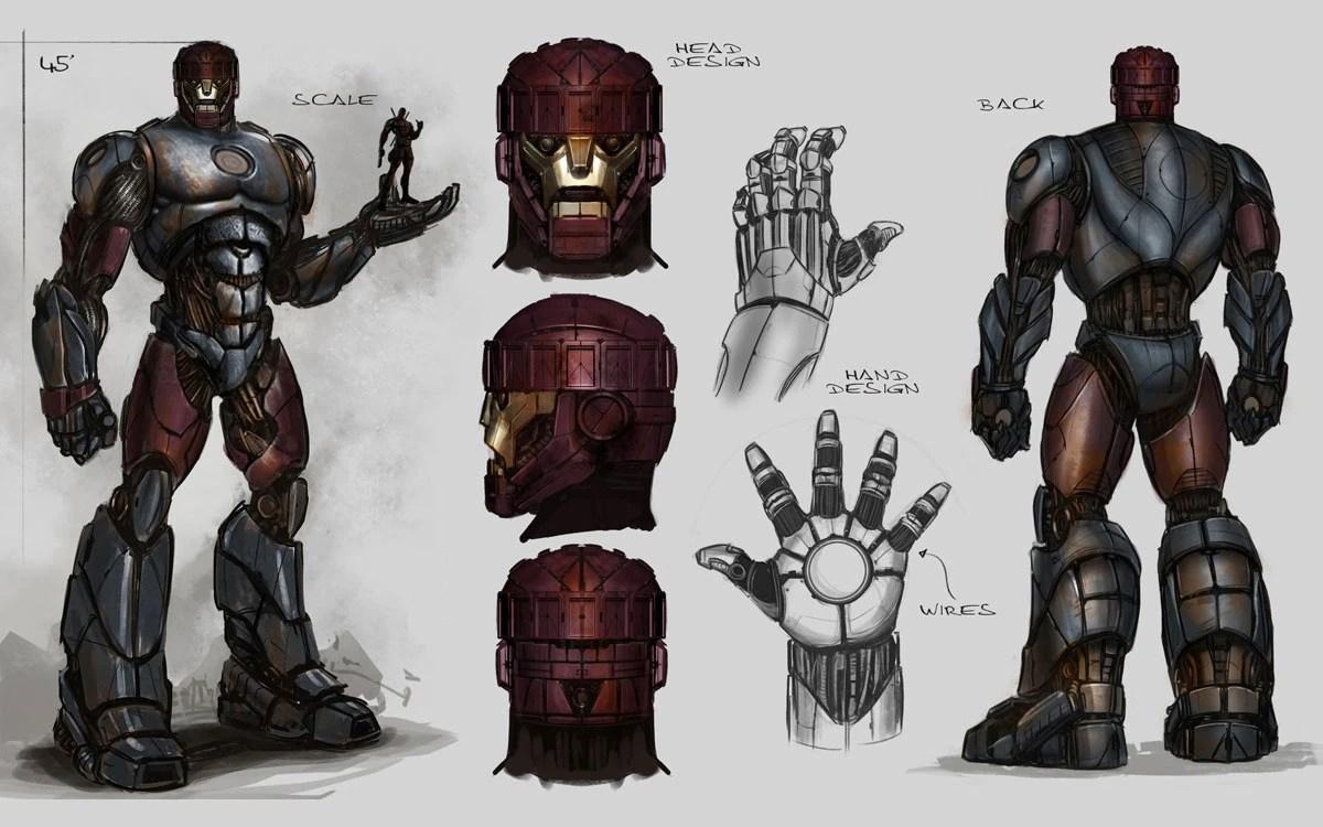 Iron Man Costume Blueprints Suit Schematics