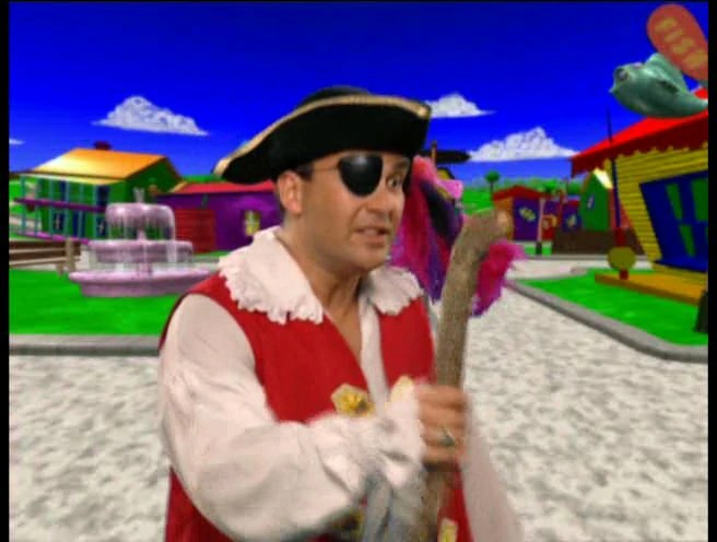Wiggles Captain Feathersword Friendly