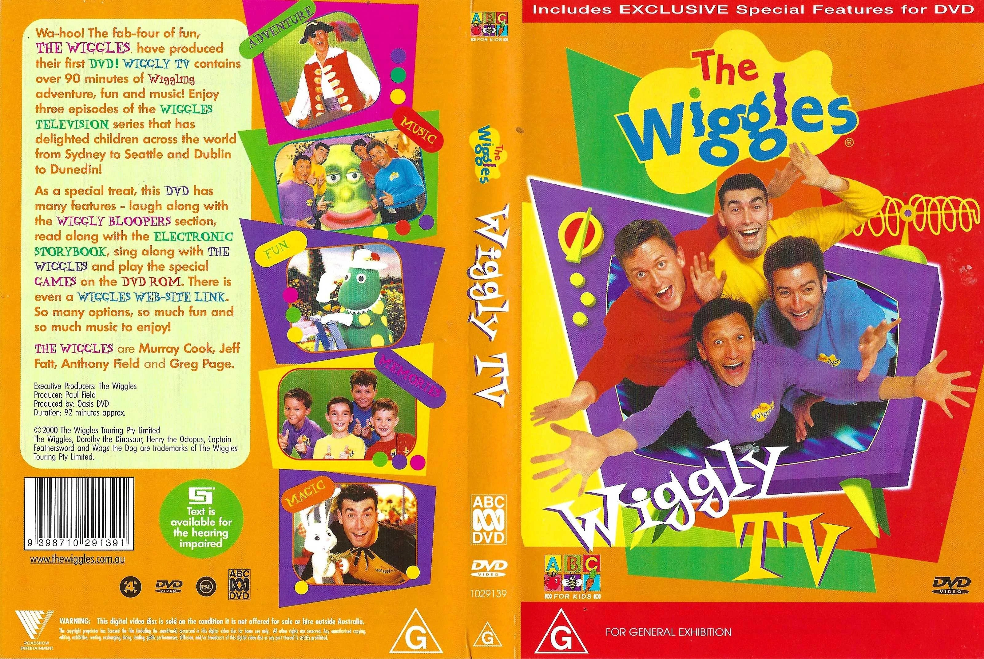 The Wiggles Wiggly Tv: Wiggle And Learn (TV Series) – Billy Knight