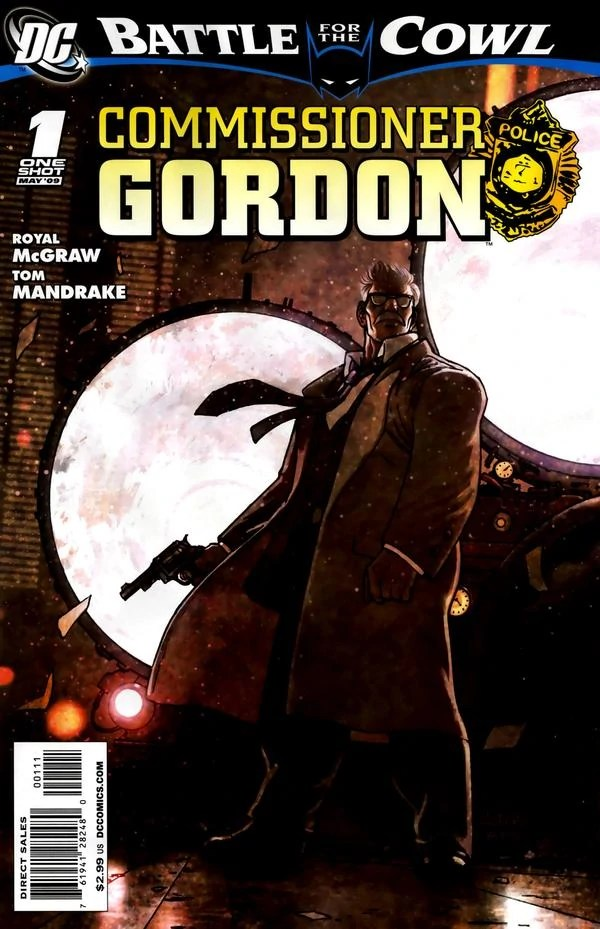 Battle For The Cowl Commissioner Gordon 1 Batman Wiki