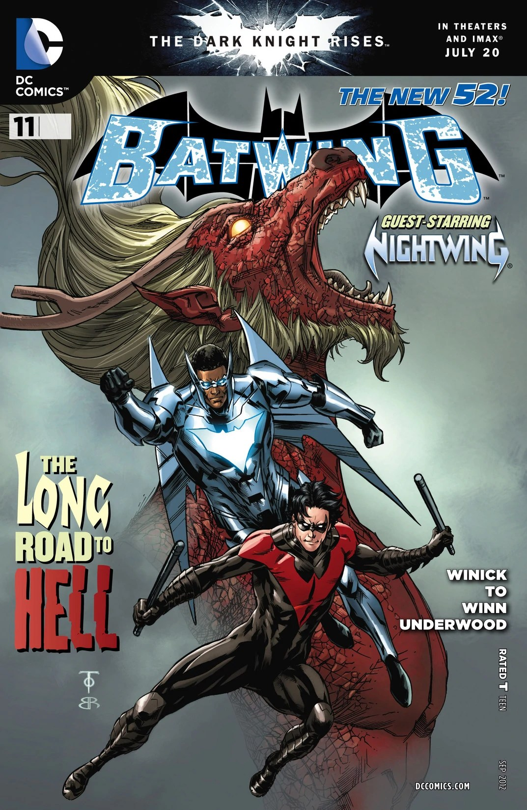 Batwing Volume 1 Issue 11 Batman Wiki FANDOM Powered