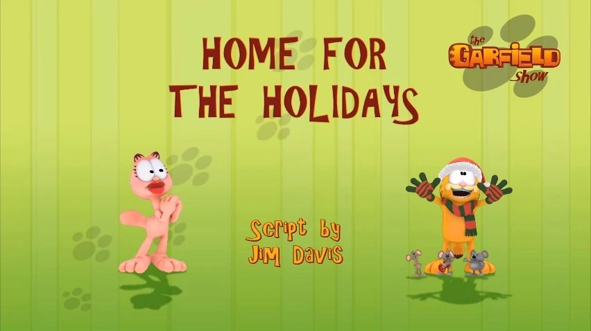 Home For The Holidays The Garfield Show Christmas