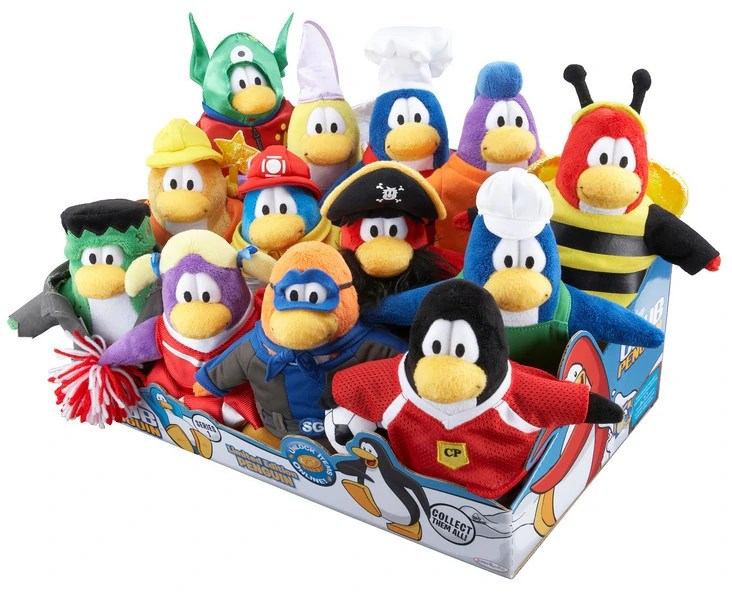 Club Penguin Sensei Plush