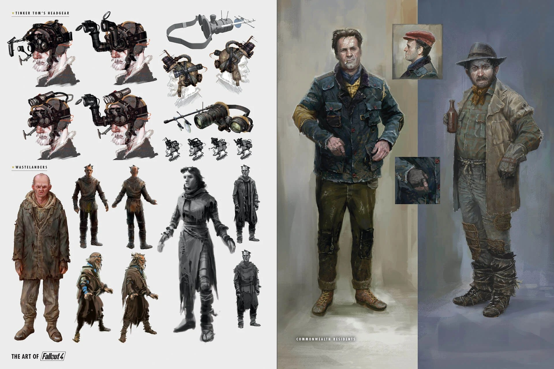 Image Art Of Fo4 Wasteland Outfits Concept Artjpg
