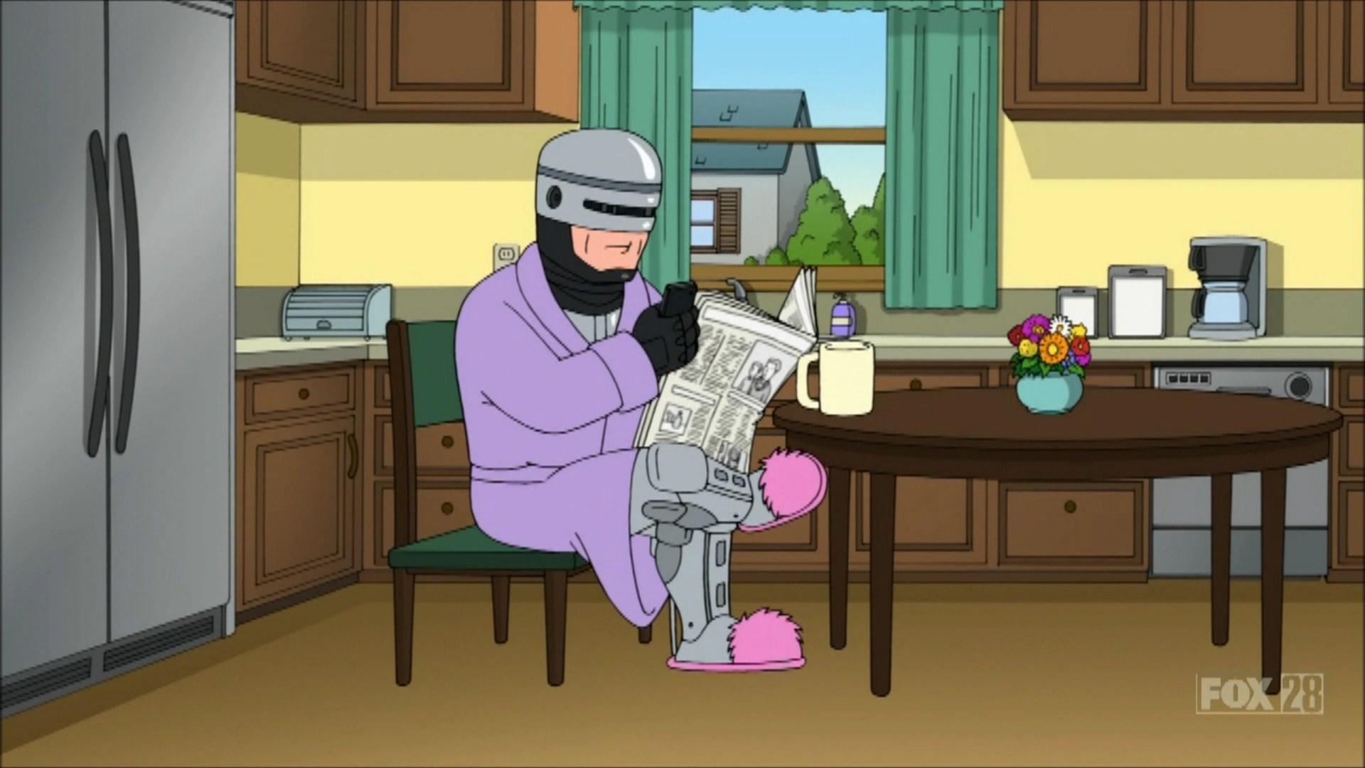 Robocop Family Guy Wiki Fandom Powered By Wikia