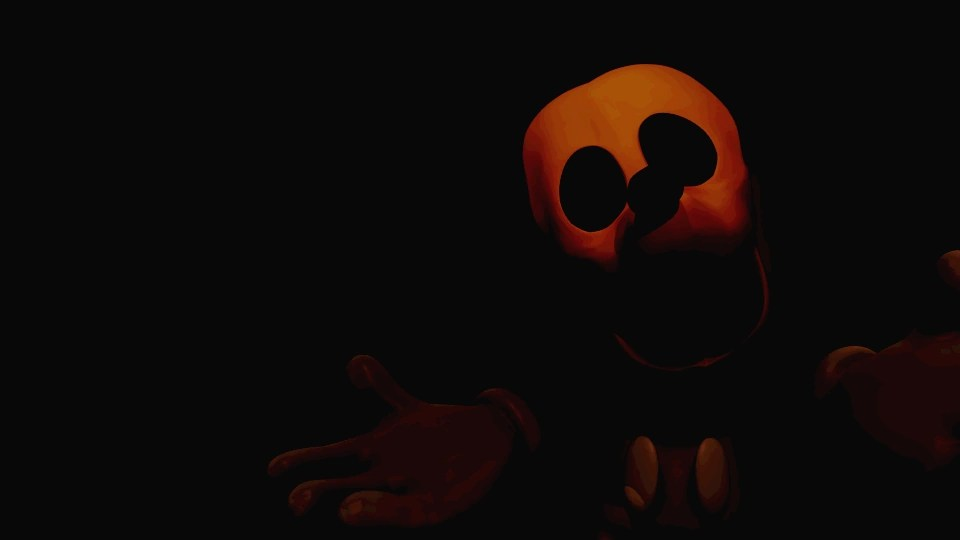 Five Nights Treasure Island Distorted Mickey
