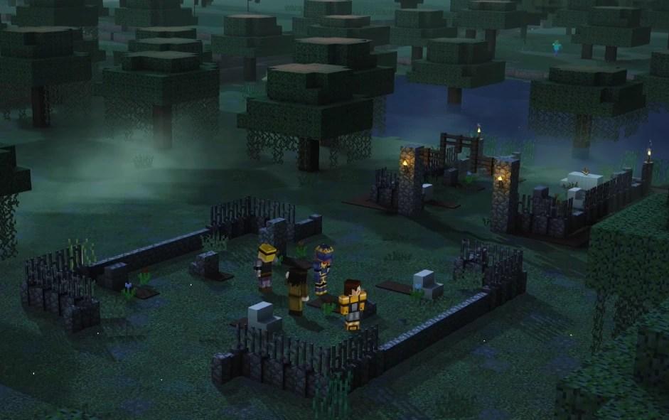 Graveyard Minecraft Story Mode Wiki FANDOM Powered By Wikia