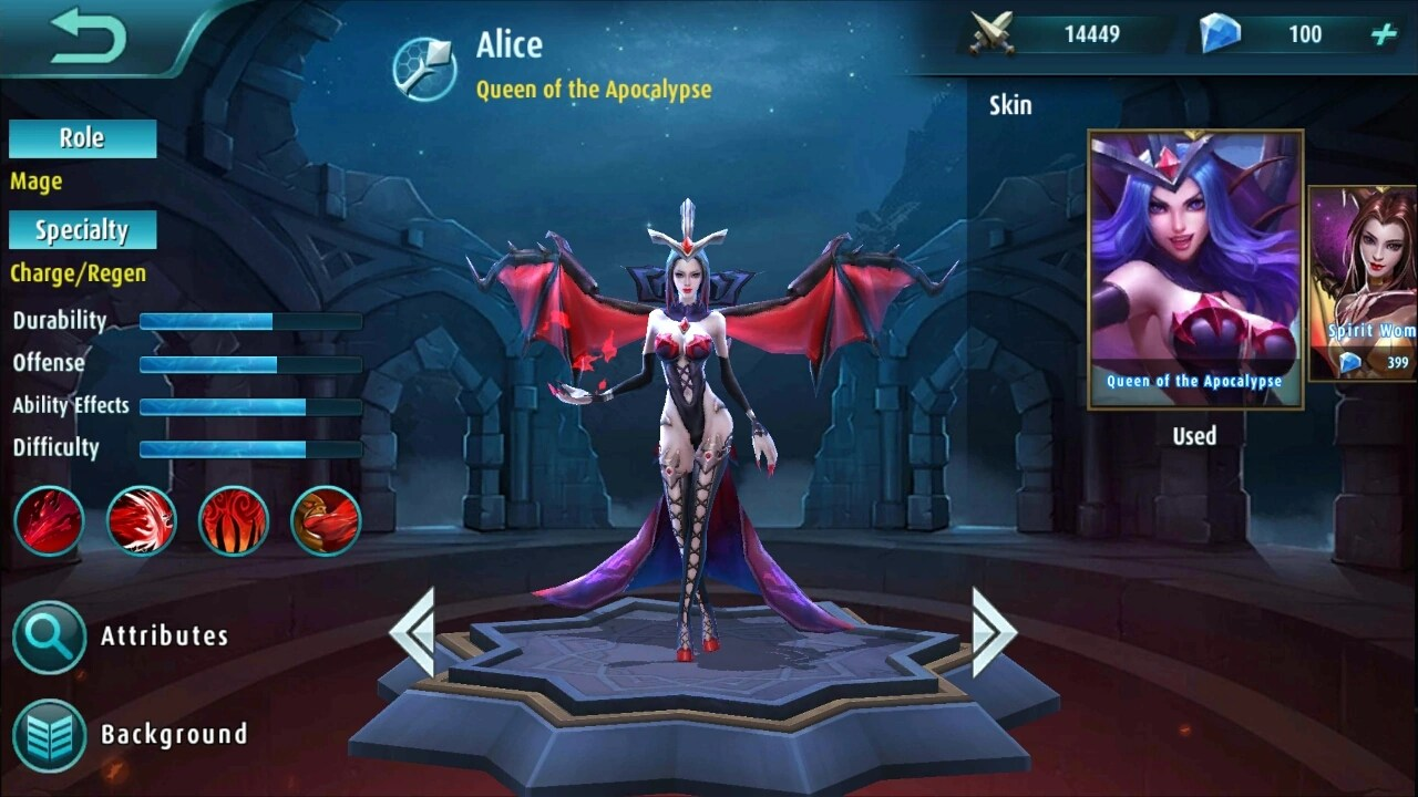 Alice Mobile Legends Wiki FANDOM Powered By Wikia