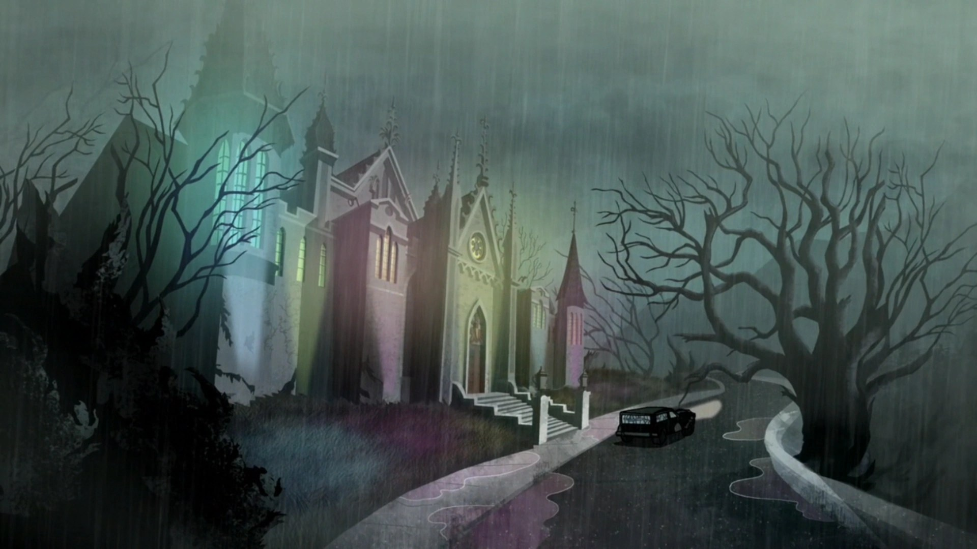 Vincent Van Ghouls Mansion Scooby Doo Mystery