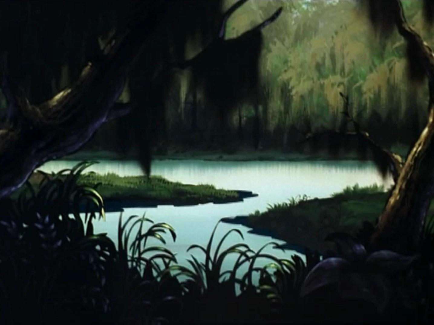 Louisiana Bayou Scooby Doo On Zombie Island
