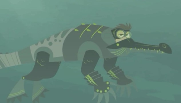Suit Crocodile Power Wild Kratts