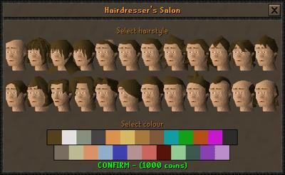Hairstyles 2007scape Wiki Fandom Powered By Wikia