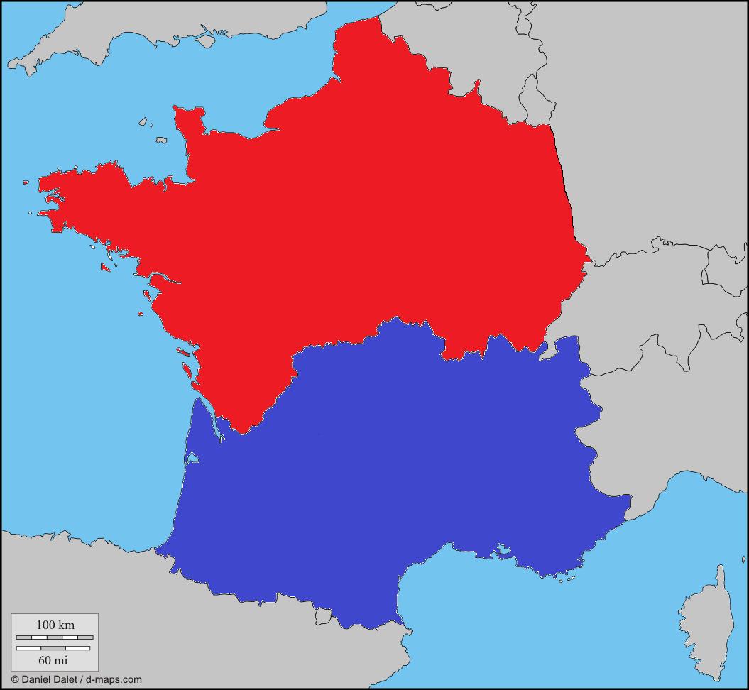 Alternate History Maps France