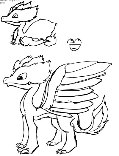 Dragonvale Dragons Coloring Pages  dragon coloring pages and