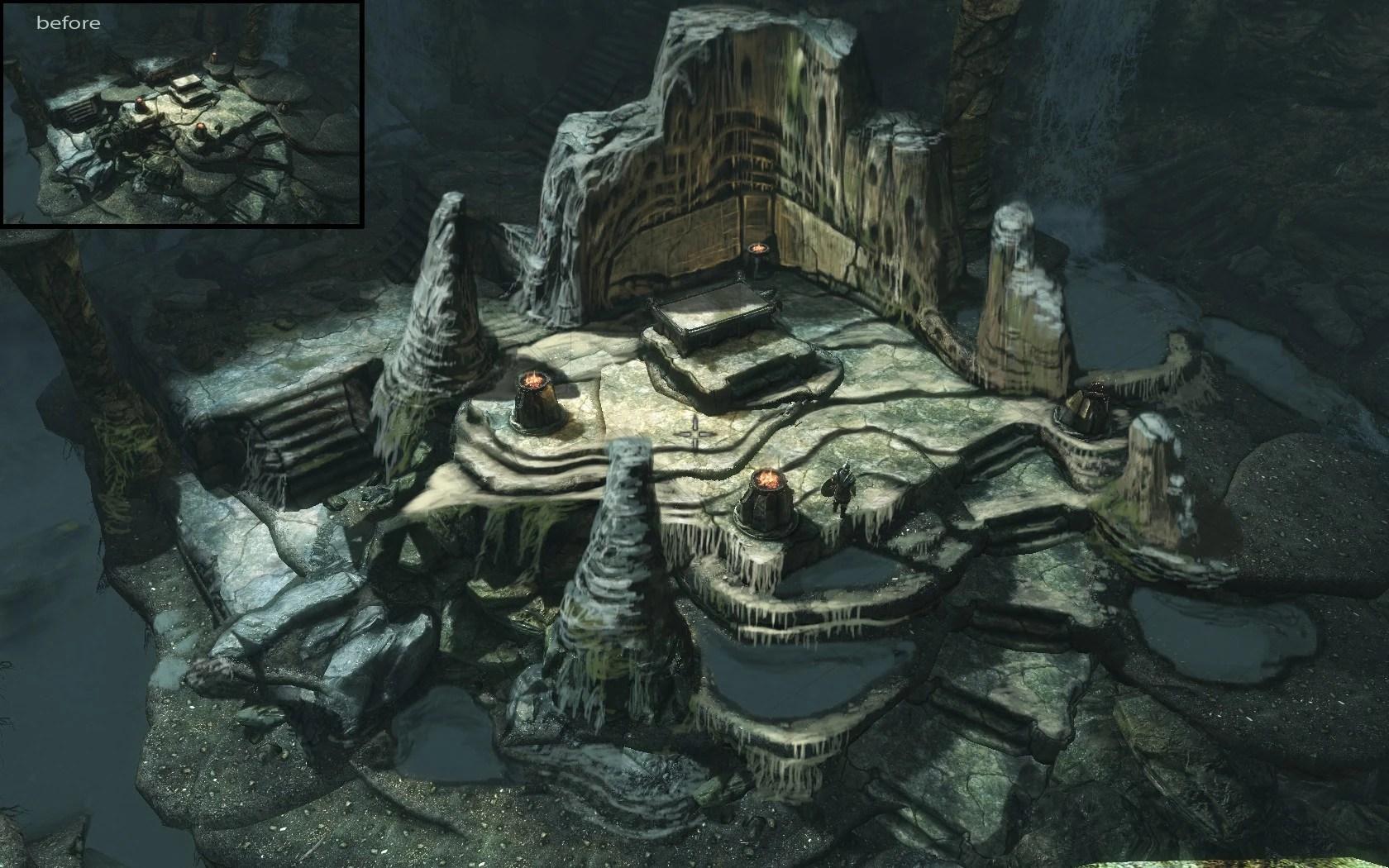 Bleak Map Sanctum Falls