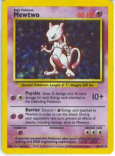 How Much Mew Pokemon Card 1995