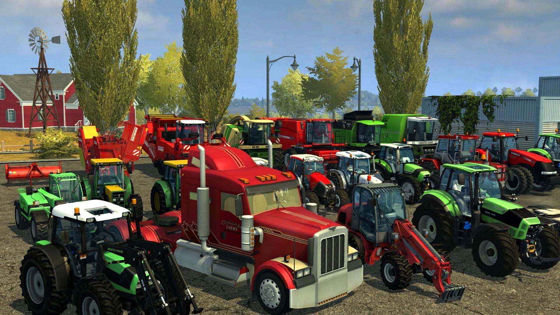 Downloadable Content Packs Farming Simulator 2013