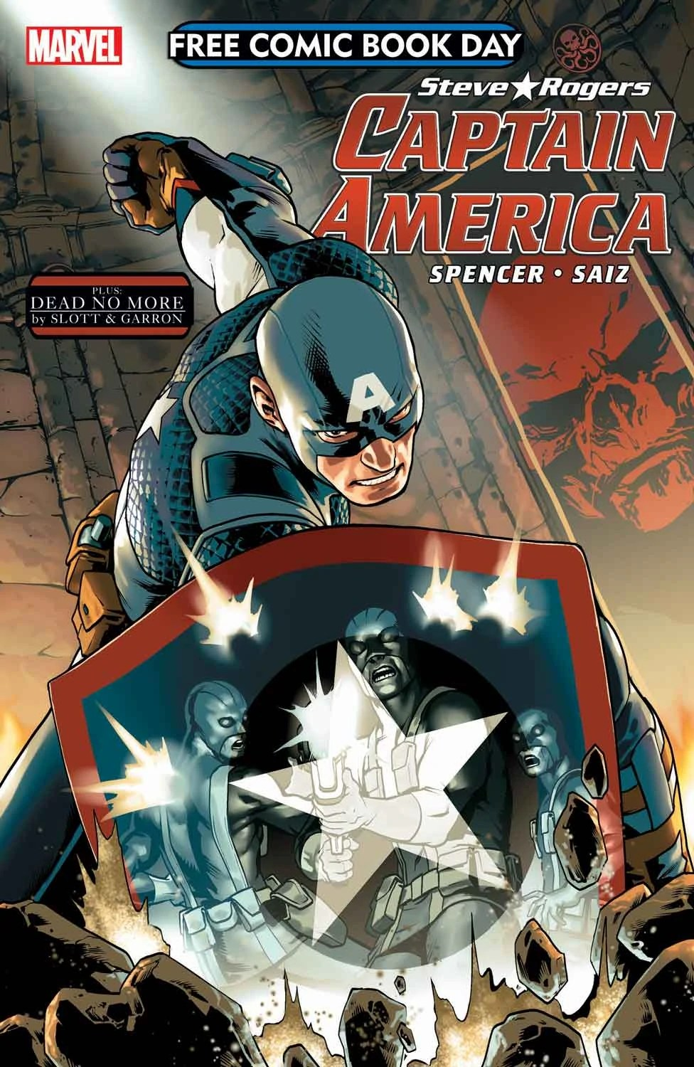 Free Comic Book Day Vol 2016 Captain America Marvel Database Fandom Powered By Wikia
