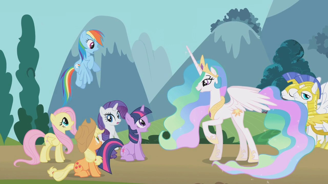 What Are Names Princess Celestia Iss Parents