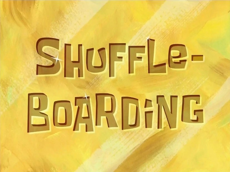 Shuffleboarding Encyclopedia SpongeBobia FANDOM