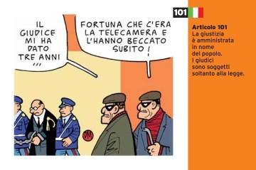 Danilo Maramotti Art.101_cartoline per la costituzione