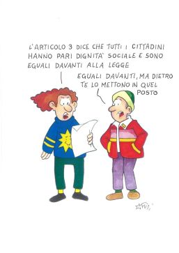 Sull'art. 3, Marco Fusi denuncia un'amara verità.
