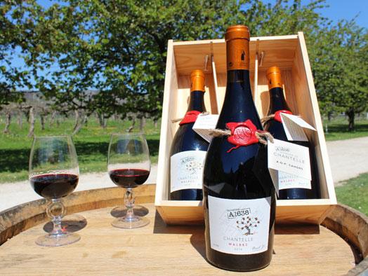 Domaine de Chantelle - Vin de Cahors - Cuvée A1638