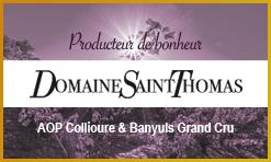 Domaine Saint Thomas - Vins de Collioure et Banyuls