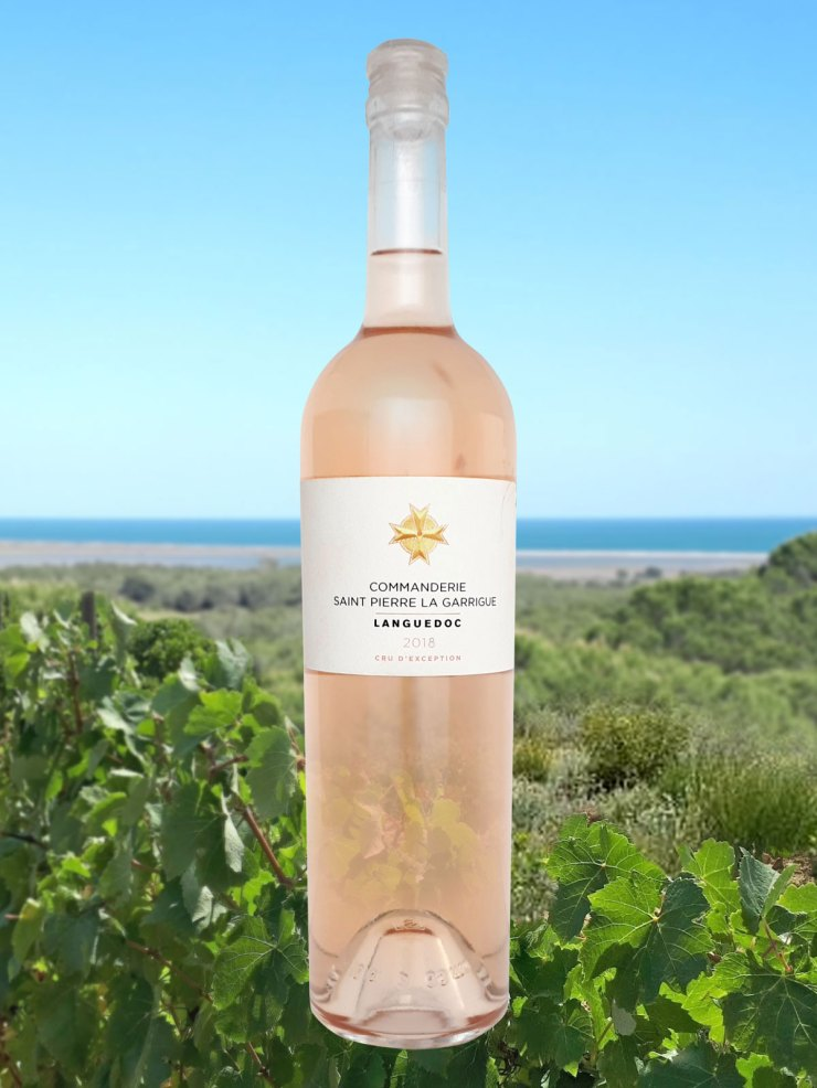Commanderie de St Pierre la Garrigue rosé