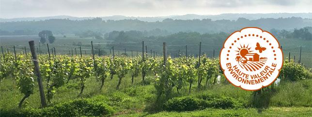 Vignobles de Haute Valeur Environnementale