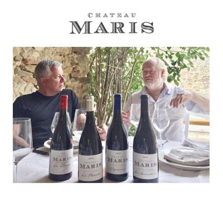 Robert Eden et Kevin Parker - Château Maris