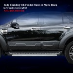 Body Cladding To Istall Wih Fender Flares For Ford Everest 2015 19 In Matte Black Thailand No 1 Hilux Dealer