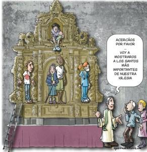 Un saludo a los santos de Vigo