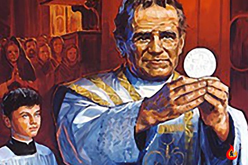 San Juan Bosco y la Eucaristía