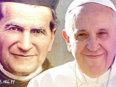 El Papa Francisco simpatiza con Don Bosco