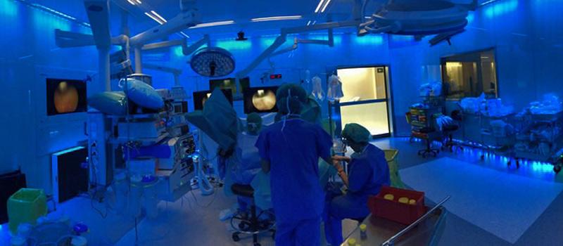 cómo se hace operación próstata LASER holmium