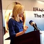 Betsy Myers in Kuwait