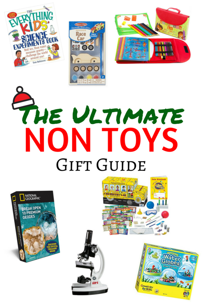 non toy gift guide