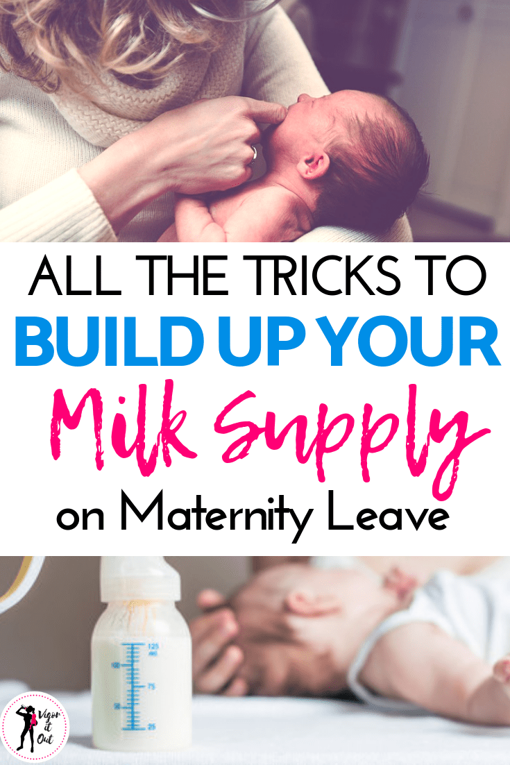 How to Increase Breastmilk Supply on Maternatiy Leave for