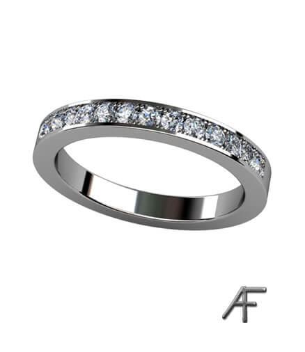 alliansring 2.6 mm diamanter